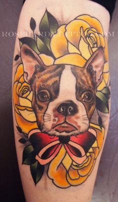 This is really pretty! I'm getting an old school style tattoo of my tibetan spaniel soon :)