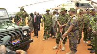 UHURU makes history again  See what he did on Tuesday within the Kenya Defence Forces