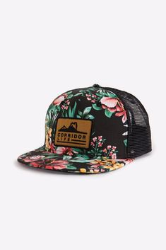Cayley Hat Snap Backs, Black Mesh, Hats, Fashion, Moda, Hat, Fashion Styles, Fashion Illustrations, Hipster Hat