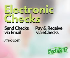 Electronic Check - Perform same function of paper check. Email Checks - Electronic Check – Perform same function of paper check. Medical Technology, Energy Technology, Payroll Checks, Blank Check, Writing Software, Check Email, Online Checks, Business Checks, Shopping