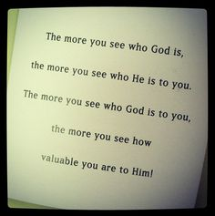 You are valuable to God- #paulawhite