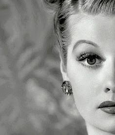 """""""I'm not funny. What I am is brave."""" ~ Lucille Ball"""