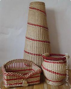 Поделка изделие Плетение Наплелось  немного Трубочки бумажные фото 1