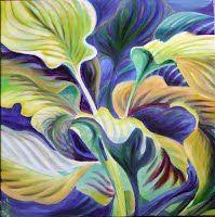 """Chaos oil painting on stretched canvas - http://www.facebook.com/SnejanaArt, Vertigo, 24""""x24"""", oil/acrylics on canvas, $895"""