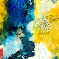 Pix For > Yellow And Black Wall Art