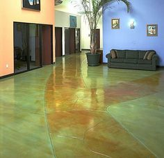 ... on Pinterest | Stained Concrete, Concrete Staining and Concrete Floors