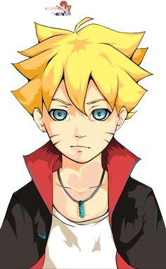 Render Naruto - Renders Boruto Uzumaki