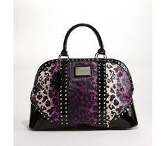 betsy johnson handbags | Betsey Johnson, Betseyville Leopard - Purple