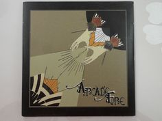Arcade Fire Neighborhood Two Track Three Inch Mini CD Foldover Sleeve
