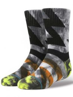 Stance Boys' Electrox Crew Socks, Available at #EssentialApparel