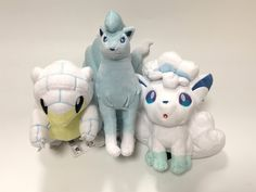 Win a Set of Alola Vulpix, Ninetales & Sandshrew Plush Toys