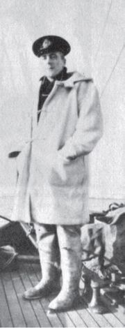 In June 1942 RNVR Lt Leo Gradwell was in command of the HMS Ayrshire