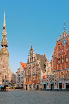 Riga, Latvia is a wallet-friendly Baltic getaway for lovers of Art Nouveau.