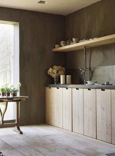 Wood Kitchen...