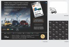 Cliente De Nigris: Projeto para Feira e eventos Dropbox   Flyer   Material de apoio para cartunista