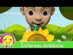 Infloresc Gradinile - Cantece de primavara pentru copii - YouTube