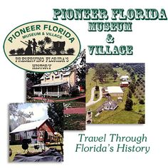 Pioneer Florida Museum, Dade City. $8 adults, $4 kids over 6, 6 and under free... December 7 1-3 Christmas open house! crafts, cookies, barrel rides, music