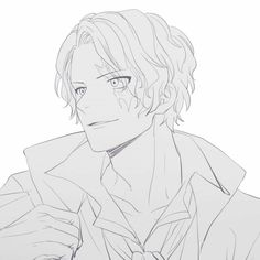 Sabo One Piece, Ace Sabo Luffy, One Piece Pictures, Cute Anime Guys, Akira, Cute Boys, Black And White, Drawings, Boats