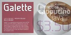 Galette™ - Webfont & Desktop font « MyFonts