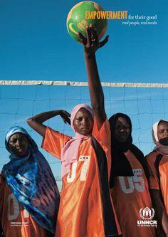 World Refugee Day 2009 poster - Empowerment©UNHCR