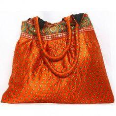 Bhandani Border Shopper Bag