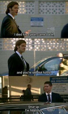 Supernatural- Winchester humor