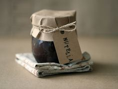 homemade nutella in a pretty package!