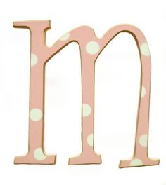 Newarrivals WPDM-050 5 in. Polka Dot Letters M in Pink by Newarrivals, http://www.amazon.com/dp/B0052SWN8M/ref=cm_sw_r_pi_dp_JQfOqb1R5VJ3S