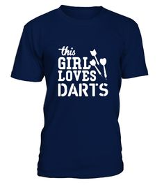BEST SELLER - This Girl Loves Darts   => Check out this shirt by clicking the image, have fun :) Please tag, repin & share with your friends who would love it. #dart #dartshirt #dartquotes #hoodie #ideas #image #photo #shirt #tshirt #sweatshirt #tee #gift #perfectgift #birthday #Christmas