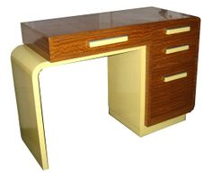Desk from Donald Deskey's first bedroom set for Widdicomb Furniture Co. - 1933.