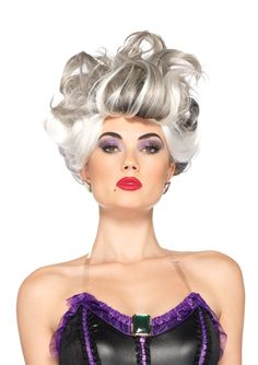 Glam up with Disney Ursula Wig. Endless Range of Ursula Wigs for Halloween at PartyBell. Disney Villain Costumes, Disney Cosplay, Disney Villains, Little Mermaid Costumes, The Little Mermaid, Costume Wigs, Costume Makeup, Cosplay Costumes, Ursula Wig