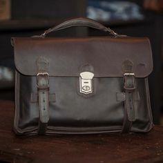Laptop briefcase vintage