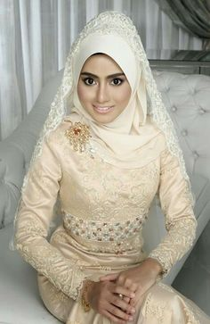Beautiful Bride #hijab #islam