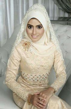 Beautiful Bride #hijab #islam