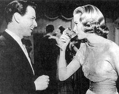 Grace Kelly & Frank Sinatra ....Uploaded by  www.1stand2ndtimearound.etsy.com