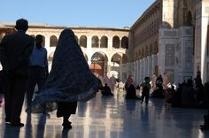 damascus mosque: a city within the city