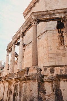 Split Croatia Old Town Beautiful Architecture