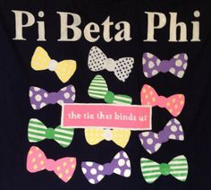 The tie that binds us! Such a cute shirt idea! Formal?
