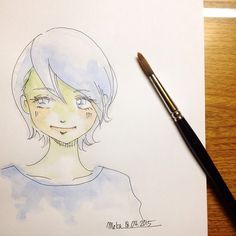 blue | #mekaworks #drawing