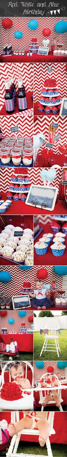 Chelsea Peterson Photography: Red, White and Blue Party {Utah Party and Child Photographer}
