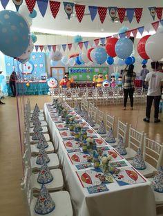 Doramon party Kids birthday party