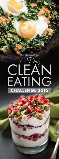 If you're here, that means you're thinking of taking BuzzFeed's newest Clean Eating Challenge.