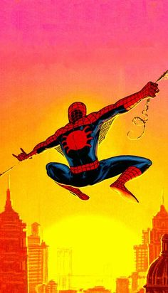 Fleer 1994 Amazing Spiderman # 11 Web-Shooting Trade Card C88
