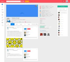 Google+ Redesign Concept