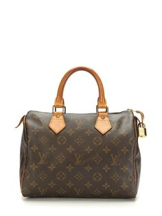 Monogram Speedy 25 -- But get it monogrammed with your initials too, that's the deal.