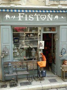 Vintage Storefronts | Fiston | Saint-Rémy-de-Provence, France | French Store Fronts