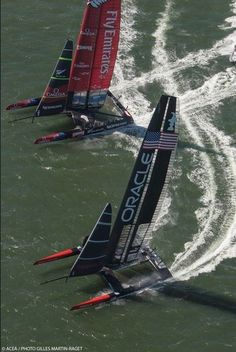 America's Cup 2013.