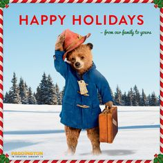 PADDINGTON arrives in theaters January 16th! #PaddingtonMovie (& Giveaway Ends 12/19)