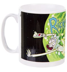 Rick and Morty Logo Mug If you or someone you know is a fan of the seriously funny sci-fi sitcom Rick and Morty, then this wicked logo mug makes the perfect buy! http://www.MightGet.com/may-2017-1/unbranded-rick-and-morty-logo-mug.asp