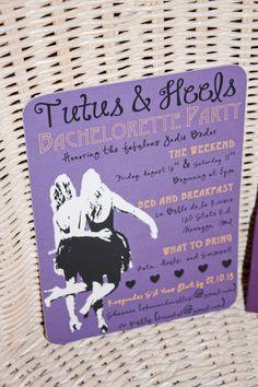 Bachelorette Party Invitation on Etsy, $2.00